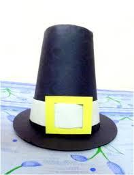 Pilgrim Hats Out Of Construction Paper - construction paper pilgrim hat allfreeholidaycrafts