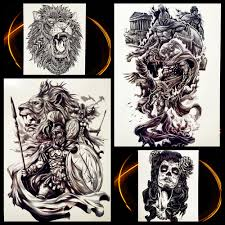 roma tattoos compare prices on warrior tattoos online shopping buy low price