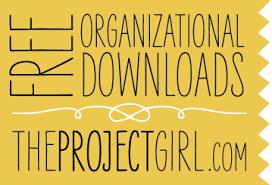 free organizational downloads jenallyson the project