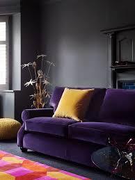 Living Room With Purple Sofa Best 25 Purple Sofa Ideas On Pinterest Purple Living Room Sofas