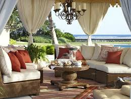Outdoor Patio Curtain Add Outdoor Curtains Patio For Better Home Exterior Home