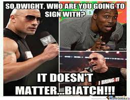 Dwight Howard Memes - dwight howard vs the rock by recyclebin meme center