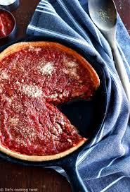 comment va bien 2 cuisine chicago style dish pizza s cooking twist