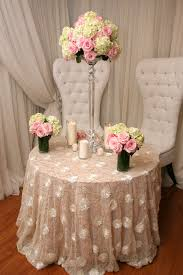cheap lace overlays tables ivory rose style with gold sequins right choice linen