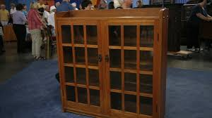 Stickley Bookcase For Sale Gustav Stickley Bookcase Ca 1914 Antiques Roadshow Pbs
