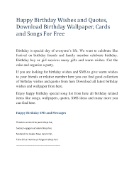 free birthday text cards u2013 gangcraft net