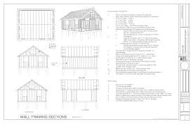 34 38 rv garage plans with 2 car 20 20 shed corglife