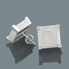 real earrings real diamond earrings 14k diamond stud earrings 1 39