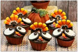 Homemade Thanksgiving Decorations by Cool Cupcakes For Thanksgiving Decorating Ideas Design Ideas