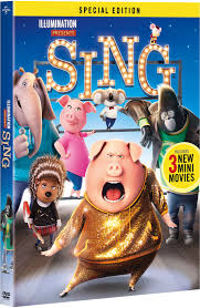 sing movie with 3 new mini movies disney and other kids
