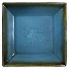 elemental square dinner plate 10 75in set of 4 threshold