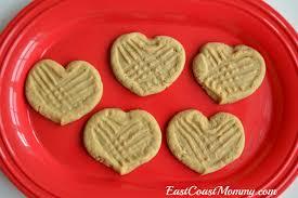 heart shaped crackers east coast heart shaped peanut butter cookies