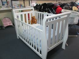 White Sleigh Cot Bed Cambridge White Sleigh Cot Kiwibaby