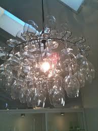 Chandelier Wine Glass Lighting U0026 Lamp Rack Wine Glasses Chandelier Kit Wine Decor Chain