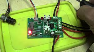 reversible dc motor speed control pwm controller youtube