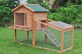 wooden pet house poultry hutch chickens hen coop wooden cage 56 5