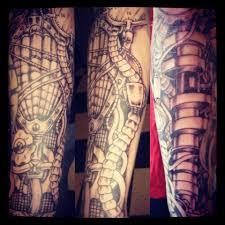 turbo tattoo sleeve car parts tattoo sleeve pictures to pin on pinterest tattooskid