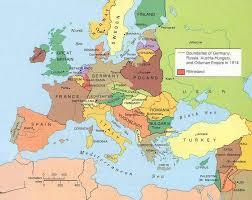 Czechoslovakia Map Maps World War One