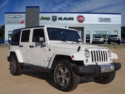 fiat jeep wrangler new 2017 jeep wrangler jk sahara sport utility in arlington j742569