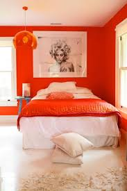 Red And White Modern Bedroom 143 Best Bedrooms Splash Of Colour Images On Pinterest Bedroom