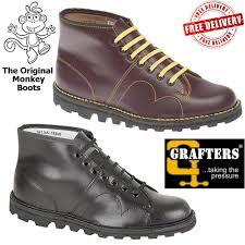 s monkey boots uk original monkey boots grafters mens womens unisex retro leather