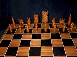 hang on ivory chess sets modern and oriental styles description