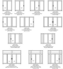 patio doors surprising sliding patio door optionsc2a0 image