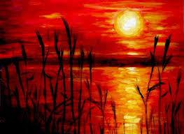 best 25 sunset painting easy ideas on pinterest beginner