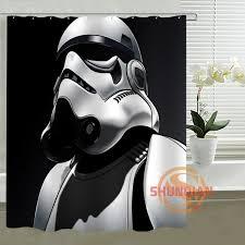 aliexpress com buy new custom star wars shower curtain