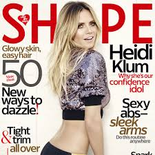 what face shape heidi klum heidi klum shares how to find the best swimsuit for your body in the