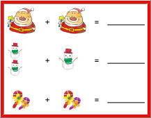 free printable winter math worskheets for kids