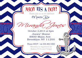 themes ahoy its a boy shower invitations in conjunction with