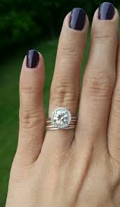 Stacked Wedding Rings by Anyone With 4 Or More Stacked Wedding Bands Weddingbee