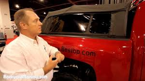 Dodge 3500 Truck Cap - bestop supertop truck fold up camper shell youtube