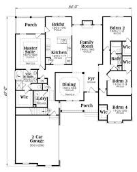 2300 square foot house plans craftsman style house plan 4 beds 2 baths 2149 sq ft plan 419