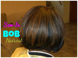 sew in bob hairstyles bob haircut sew in weave tutorial youtube