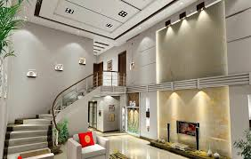 Duplex Stairs Design Duplex House Living Room And Stairs Interior Design