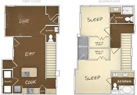 two story apartment floor plans b2 cottage floor plans grapevine station apartments