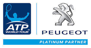 peugeot logo peugeot and atp announce global partnership
