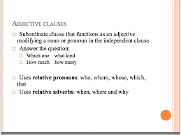 Adjectives That Compare Worksheets Adjective And Adverb Clauses Youtube