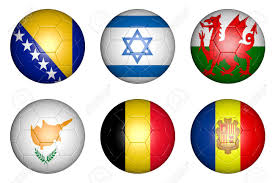 Flag Of Bosnia Balls With Flags Of Countries Bosnia Herzegovina Belgium