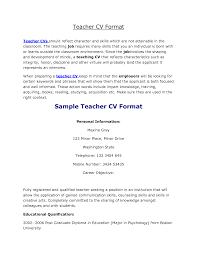 Sample Resume For Teaching Profession For Freshers by Math Teacher Resume Example Science Teacher Resume Examples