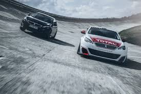pujo car the peugeot 308 racing cup bred to race peugeot sport