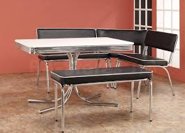 retro dining table and chairs luxury brilliant ideas cracked ice