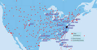 united airlines hubs richmond international airport ric