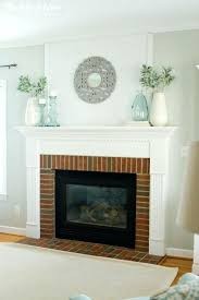 simple fireplace mantel ideas winter mantel decor simple fireplace