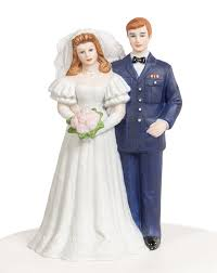 marine cake topper air wedding cake topper figurine wedding collectibles