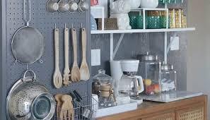 Kitchen Pegboard Ideas Kitchen Wall Ideas Kitchen Cabinets Remodeling Net