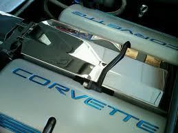 corvette stainless creations corvette c5 chrome intake plenum cover
