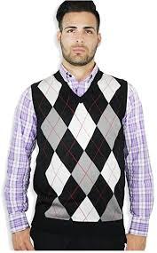 buy argyle sweater vest for men online blue ocean clothing